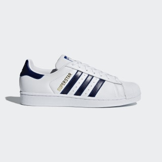 Tênis Superstar Cloud White / Collegiate Royal / Gold Metallic B41996