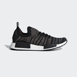 Tênis NMD_R1 STLT Primeknit CORE BLACK/GREY TWO F17/GREY FIVE B37636