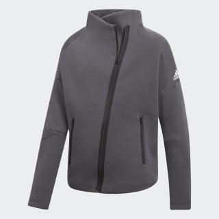 Куртка ID dark grey heather / dgh solid grey / white DJ1399