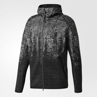 adidas Z.N.E. Pulse Knit Hettejakke Black / Off White BS4877