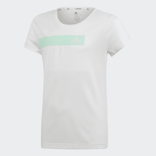 Polera Training Cool white / clear mint DV2766