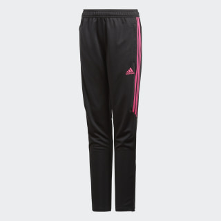 Tiro 17 Training Pants Black / Shock Pink CF1149