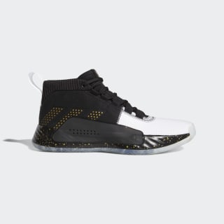 Dame 5 Shoes Core Black / Gold Metallic / Cloud White G28821