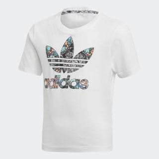 T-SHIRT (SHORT SLEEVE) L ZOO TEE WHITE/MULTICOLOR D98880