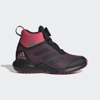 Кроссовки для бега FortaTrail X Boa core black / real pink s18 / real magenta G27558