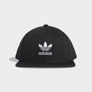 Adicolor Flat-Brim Trefoil Hat Black / White DV0236