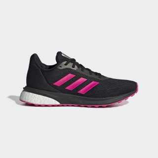 Zapatillas para correr Astrarun Core Black / Shock Pink / Night Metallic EG5833