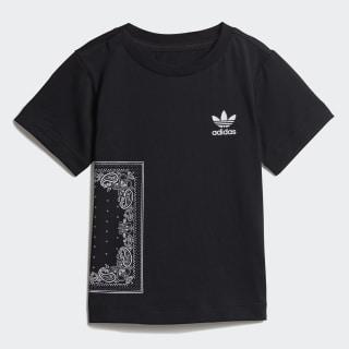 Bandana T-Shirt Black / White DW3854
