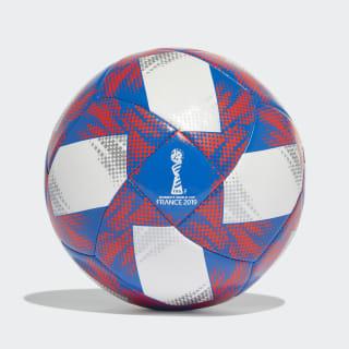 Balón Tricolore 19 Top Capitano White / Football Blue / Solar Red / Silver Metallic FS0802