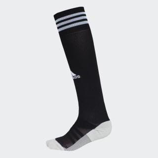 Meião AdiSocks Knee black/glow blue EC5769