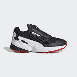 Falcon Zip Shoes Core Black / Cloud White / Red EF3644