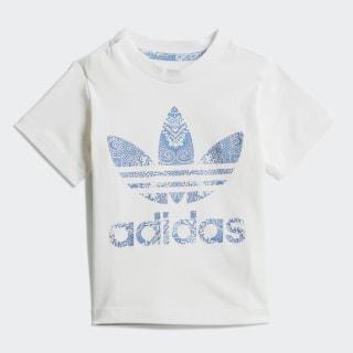 Camiseta Culture Clash White / Clear Sky / Multicolor DV2328