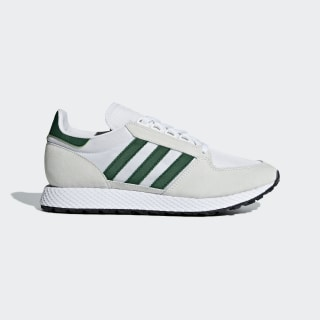 Tenis Forest Grove CRYSTAL WHITE/COLLEGIATE GREEN/CORE BLACK B41546