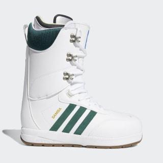 Botas Samba ADV Cloud White / Collegiate Green / Gum5 D97892