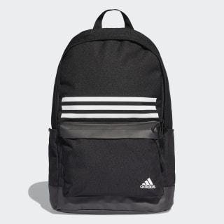 Sac à dos Classic 3-Stripes Pocket Black / Black / White DT2616