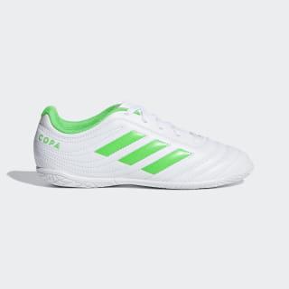 Футбольные бутсы (футзалки) Copa 19.4 IN ftwr white / solar lime / ftwr white D98096