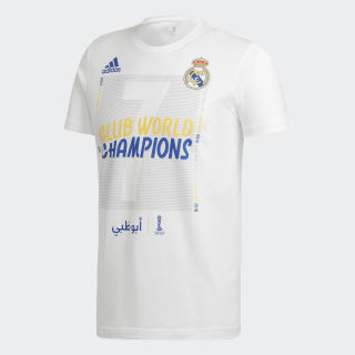 Real Madrid World Champions Tee White FR8401