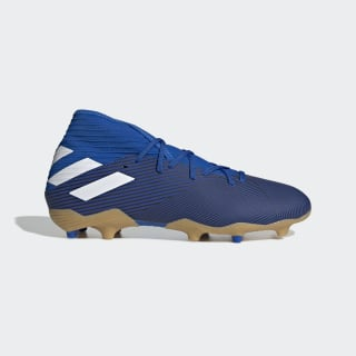 Nemeziz 19.3 Çim Saha Kramponu Football Blue / Cloud White / Core Black F34391