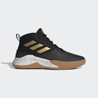 Zapatillas de básquet OwnTheGame Core Black / Matte Gold / Cloud White EE9636