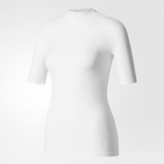 Camiseta Warp-Knit WHITE CE7828