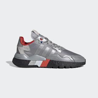 Nite Jogger Shoes Silver Metallic / Silver Metallic / Core Black FV3787