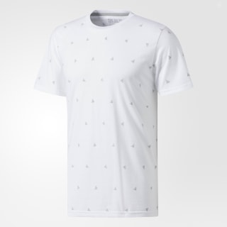 Allover Badge of Sport Tee White / Grey Two CD4353