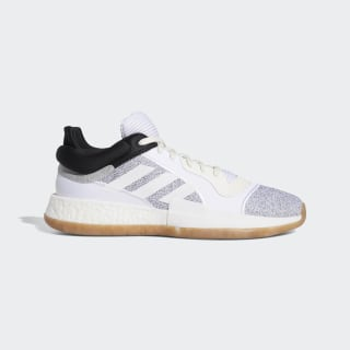 Zapatilla Marquee Boost Low Beige / Ftwr White / Core Black D96933