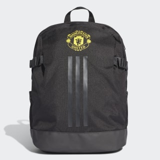 Manchester United Backpack Black / Solid Grey / Bright Yellow DY7696