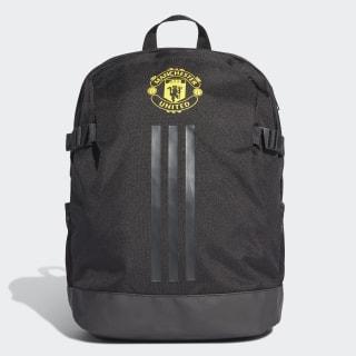 Mochila MANCHESTER UNITED black/solid grey/bright yellow DY7696