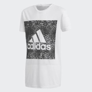 Camiseta Essentials Logo in the Box White / Black CF7249