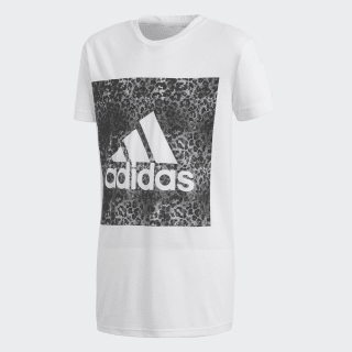 T-shirt Essentials Logo in the Box White/Black CF7249