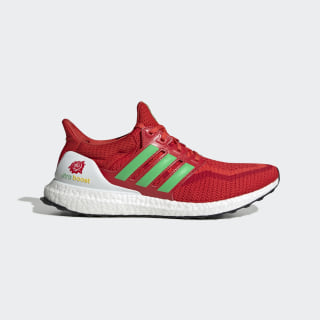 Ultraboost Shenyang Red / Energy Green / Bright Red FW5231