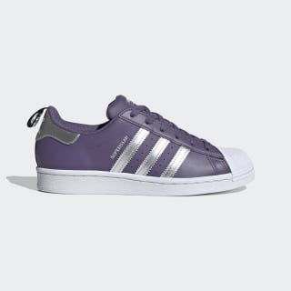 Superstar Schoenen Tech Purple / Silver Metallic / Cloud White FV3631