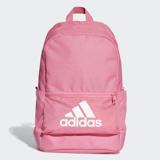Classic Badge of Sport Backpack Semi Solar Pink / Semi Solar Pink / White DT2630