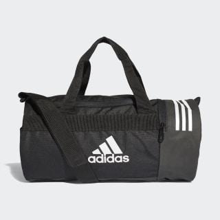 Convertible 3-Streifen Duffelbag XS Black / White / White CG1531