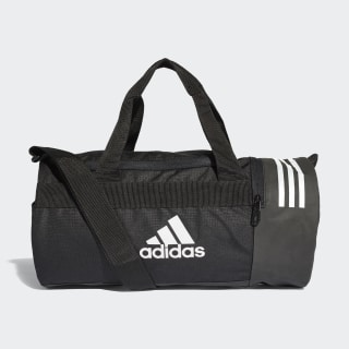 Convertible 3-Stripes Duffel Bag Extra Small Black / White / White CG1531