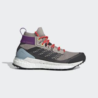 Terrex Free Hiker Hiking Shoes Light Brown / Carbon / Ash Grey G28416