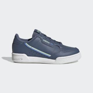 Zapatillas Continental 80 Tech Ink / Real Blue / Glow Green EE6495