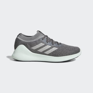Purebounce+ Shoes Grey Three / Silver Metallic / Ash Green D96585