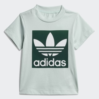 Trefoil Tee Vapour Green / Collegiate Green / White ED7685
