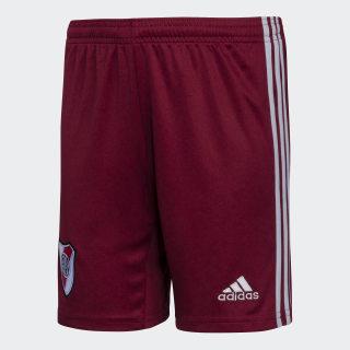 Shorts Visitante Club Atlético River Plate Niños noble maroon/clear onix DX5935