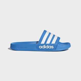 Adilette Cloudfoam Slides Bright Blue / Cloud White / Bright Blue B42211