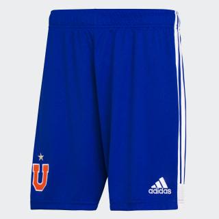 Shorts U. de Chile adidas 70 años Bold Blue EV6194