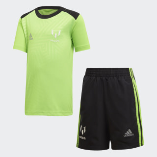 LB Messi Set Solar Green / Black / Reflective Silver DJ1491