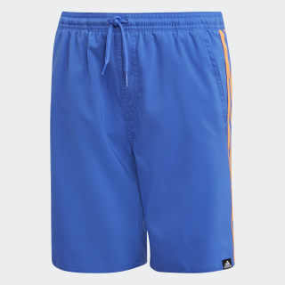 SWIM SHORTS YB 3S SH CL HI-RES BLUE S18/HI-RES ORANGE S18 DJ2158
