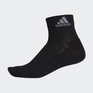 Ponožky 3-Stripes Performance Ankle Black / Black / Light Grey AH9871