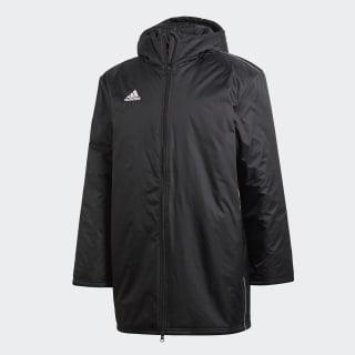 Core 18 Stadium Jacket Black / White CE9057
