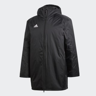 Core 18 Stadium Jacket Black / White CE9057