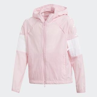 ID Hype Wind Jacke True Pink / White DV0290