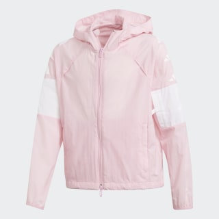 Veste ID The Pack Wind True Pink / White DV0290